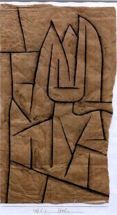 IMG_9707 Paul Klee. 1879-1940.  Pride I 1937.   Hannover Sprengel Museum