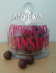 Chocolate is the answer. Who cares what the question is...