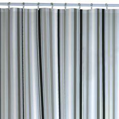Merveilleux Amazon.com   Maytex Sporty Stripe PEVA Shower Curtain   Gray Shower Curtain