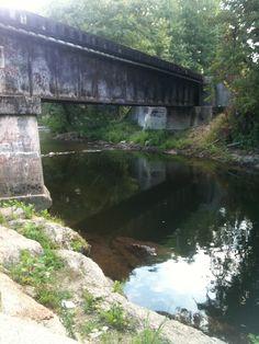 Bridge in Bryson City, NC