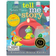 Tell Me a Story Creative Story Cards by eeBoo Mystery in the Forest