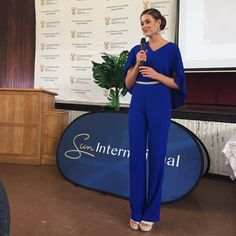 Rolene Strauss @rolenestrauss So lovely to be b...Instagram photo | Websta (Webstagram) Miss World 2014, Beauty Queens, Ms, Jumpsuit, My Favorite Things, Instagram, Dresses, Fashion, Overalls
