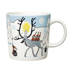Arabia Moomin mug Winter Forest, Tove Slotte Finland Marimekko, Winter Forest, Scandinavian Design Centre, Scandinavian Style, Moomin Mugs, Tove Jansson, Scandinavian Christmas, China Dinnerware, Finland