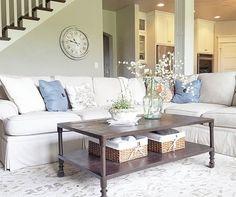 grayhouse.whitecottage Cottage/Country Living Room Design