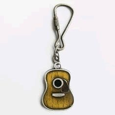 Acoustic Guitar Key Ring $7.95 isabellaflmccul