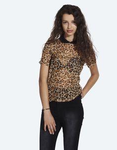 Buy Leovepard Top at Drop Dead Clothing