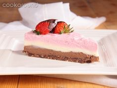 Cheesecake tre gusti: Ricette Dolci | Cookaround