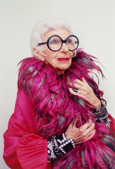 EDITORIAL: Iris Apfel by Niall O'Brien for Salt Mag