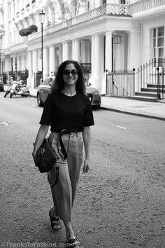 #culottes #cropped #summeroutfit #croptop #croptrousers #zara #birkenstock #summertrend #toryburch #culottes www.ThanksToFashion.com