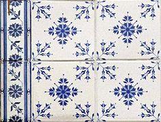Azulejos antigos no Rio de Janeiro: Centro XXVIII - travessa Belas Artes