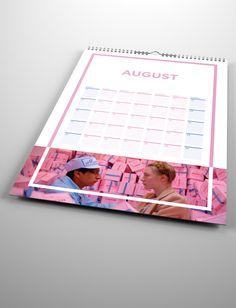 Wes Anderson Calendar on The Loop