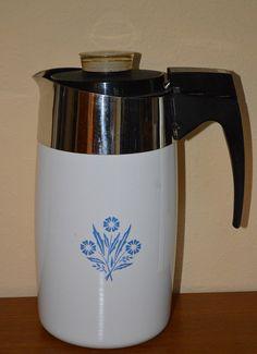 Corning 10 Cup Electric Percolator Coffee by TwinsTreasureTrove