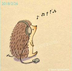I love hedgehogs and I like learning how to draw them. ^..^