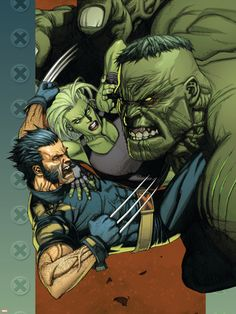 #Hulk #Fan #Art. (ULTIMATE WOLVERINE VS. HULK #4 & #5 (of 6. Cover) By: LEINIL FRANCIS YU. (THE * 5 * STÅR * ÅWARD * OF: * AW YEAH, IT'S MAJOR ÅWESOMENESS!!!™)[THANK Ü 4 PINNING!!!<·><]<©>ÅÅÅ+(OB4E)