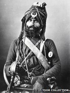 I've really loved studying the sikh for the last few years.  This warrior rocks.  And he's my first ever pinterest!  So... I don't know if you can link back to the article from here or not.  Surely you can...