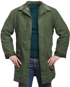 Genuine-Swedish-Army-Surplus-Jacket-Cold-Weather-Parka-With-Fleece-Liner