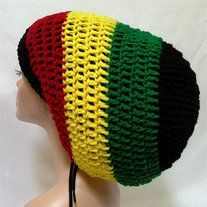This large raster hat designed for long dreadlocks, hair and braids. The puffy haired person like my daughter would love it. Handmade from Acrylic no dye yarn, it will keep your hair out of your face and out of the way when you need to. The vibrant colors add charm and air of confidence. Made in ...