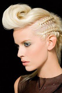 rock and roll updo