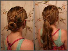▶ Game of Thrones Hair: Daenerys Targaryen's Second Sons Bath Scene Braids. - YouTube