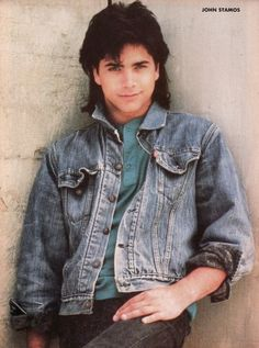 John Stamos during the Full House days Tio Jesse, Fashion Through The Decades, Pin Up Posters, San Francisco, Gorgeous Men, Beautiful People, Pretty People, Having A Crush, Celebrity Crush