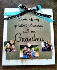 Cute Mother's Day Gift Idea for Grandma