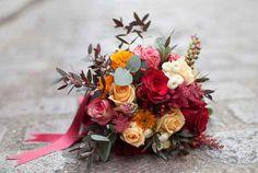 35 bouquets de mariée d'automne pour vous inspirer