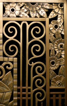 Art deco flower corners by opacity estilo art deco, art deco furniture, fur Arte Art Deco, Motif Art Deco, Estilo Art Deco, Art Deco Pattern, Pattern Design, Art Et Architecture, Architecture Details, Art Nouveau, Art Deco Furniture