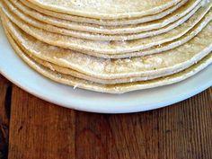 Tortillas di farina di mais - quelle vere