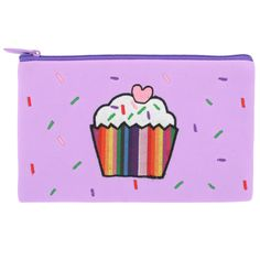 cupcake flat pencil case from Paperchase