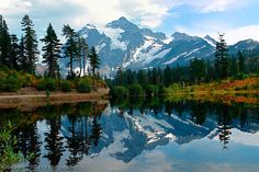 Located in the North Cascade Mountain Range just South of the Canadian Border in the State of Washington.