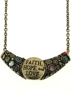 Crescent Moon Diamante Necklace