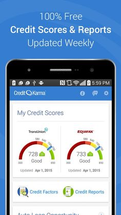 Credit Karma Brings Good Karma to Your Bank Account | Drippler - Apps, Games, News, Updates & Accessories Credit Scores, #CreditScores