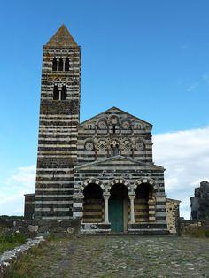 Sassari Basilica della Santissima Trinità di Saccargia
