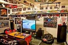 Ditch the framed sports jerseys. | 21 Bachelor Pad Tricks That Will Up Your Game