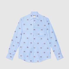 Gucci Elephants fil coupé Duke shirt