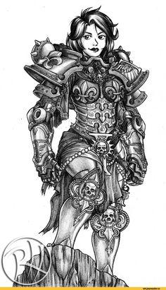 warhammer 40000,фэндомы,Adepta Sororitas,sisters of battle, сестры битвы,Ecclesiarchy,Imperium