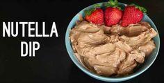 Nutell-Dip für Früchte