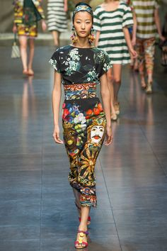 Dolce & Gabbana Spring 2013 Collection | Style Pantry