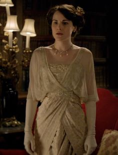 Another of my favorites of the show - Downton Abbey - Lady Mary Crawley