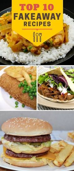 Bored of dieting already? Enjoy some 'junk food' without feeling naughty. Here are our 'Top 10 Fakeaway Recipes'.