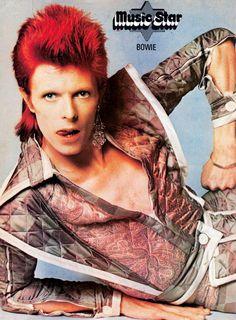 David Bowie Music Star poster – September 21, 1974