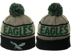 a1700eb3ad646f 2017 Winter NFL Fashion Beanie Sports Fans Knit hat Nfl Philadelphia  Eagles, Winter Hats For