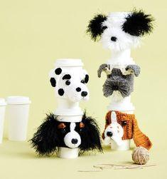 Dog Crochet Patterns Coffee Cozy Pattern Cup Cozy Dog Dog | Etsy Border Terrier, Cairn Terrier, Bull Terrier, Yorkshire Terrier, Springer Spaniel, Cocker Spaniel, Crochet Cozy, Crochet Gifts, Dog Crochet