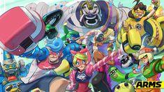 Nintendo releases official ARMS desktop/mobile wallpaper | GoNintendo