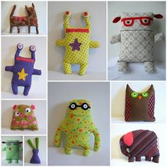 doudou monsters by nicole