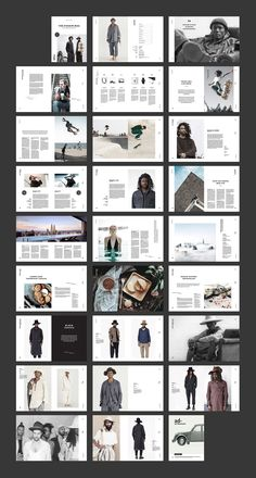 Magazine by BOXKAYU on Printing brochure template with one of the best creative design and great cover, perfect for modern corporate appearance for business companies. This layout is modern, simple and feminine; have a good inspiration or grab some ideas. Web Design, Book Design, Creative Design, Editorial Layout, Editorial Design, Indesign Templates, Brochure Template, Magazine Layout Design, Magazine Layouts