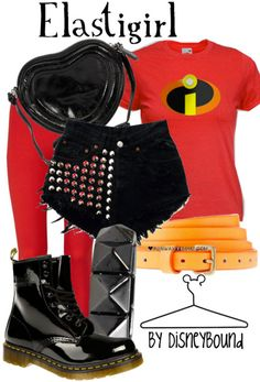 DISNEY FASHION: Elastigirl from The Incredibles