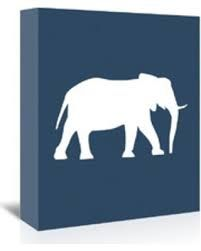Image result for navy white painting elephant