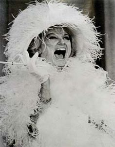 Phyllis Diller... she was sooo funny!