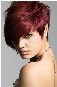 Short Red Hair..,